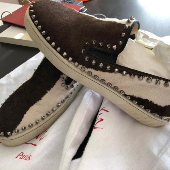 79364bfd6ce0 Christian Louboutin Pik Boat Harako studs sneaker. Christian Louboutin.  M 5caf98dc29f030a00acf017b. M 5caf98dc248f7a8c1b676d6c.  M 5caf98dc248f7ad9d2676d6d